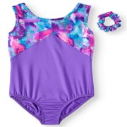 Girl's Leotard with criss cross back straps