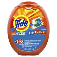 Tide PODS Liquid Laundry Detergent Pacs, Original, 81 count