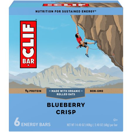 Clif Bar® Blueberry Crisp Energy Bars 6-2.4 oz.