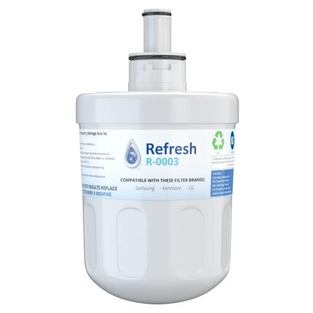 Refresh R-0003 Refrigerator Water Filter For Samsung DA29-00003G ()