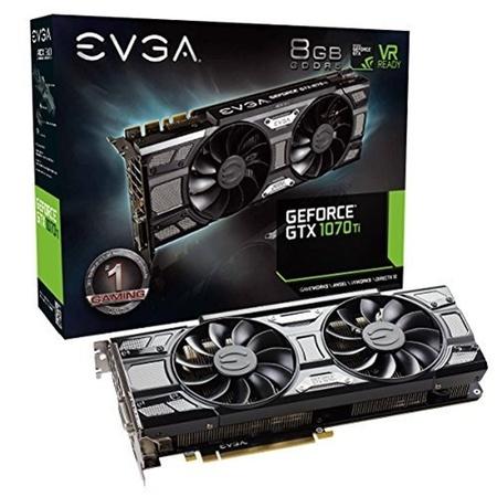 EVGA GeForce GTX 1070 Ti SC 8GB GDDR5 Graphics Card - (Best Gtx 1070 Deals)