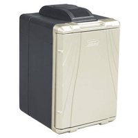 Coleman 40-Quart PowerChill Thermoelectric Cooler with Power Cord, Black/Silver