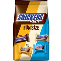 (2 Pack) Snickers Chocolate Candy Bars, Fun Size, Variety Mix, 35.09 Oz