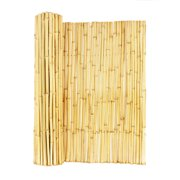 Rolled Bamboo Fences