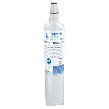Replacement For Kenmore 9990 Refrigerator Water Filter - by Refresh