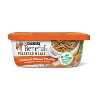 Purina Beneful Prepared Meals Simmered Chicken Medley Wet Dog Food - 10 oz. Tub