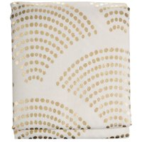 Mainstays Sunrise Metallic Shower Curtain