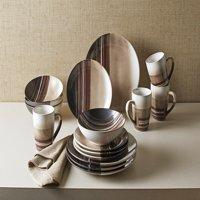 Better Homes & Gardens Rockport Reactive Dinnerware, Set of 16