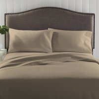Better Homes & Gardens 300-Thread-Count Damask Stripe Sheet Set