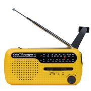 e7e14c5e086 Kaito Voyager V2 AM FM Shortwave Weather Emergency Radio with Solar and  Crank - Yellow