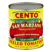 (3 Pack) Cento San Marzano Peeled Tomatoes, 28 Oz