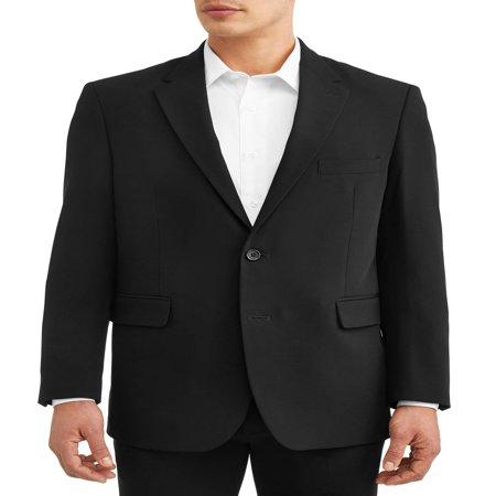 Navy Blue Suit Jacket (George Men's Premium Comfort Stretch Suit Jacket )
