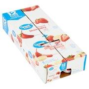 Great Value Original Strawberry + Strawberry Banana Lowfat Yogurt, 6 oz, 12 count