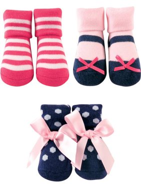 Baby Girl Socks Giftset, 3-Pack
