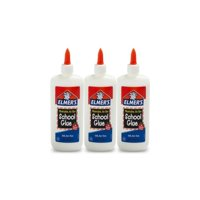(3 Pack) Elmer's Washable Liquid School Glue, 7.6 oz