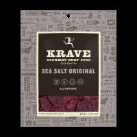Krave, Beef Jerky Sea Salt Original, 2.7 Oz