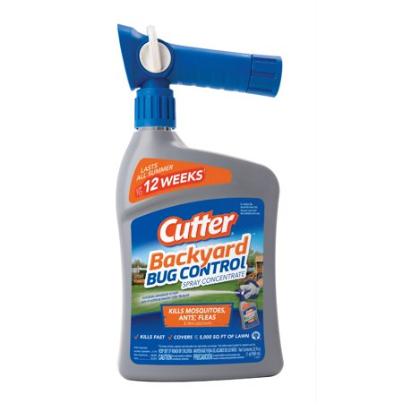 Cutter Backyard Bug Control Spray Concentrate, Ready-to-Spray, 32-fl (All Pro Bug)