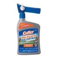 Cutter Backyard Bug Control Spray Concentrate, Ready-to-Spray, 32-fl oz