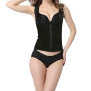 5929ee885e6 Women Neoprene Waist Trainer Sexy Corsets And Bustiers Waist Zipper Cincher  Corset Shaper Sport Slimming Shapewear