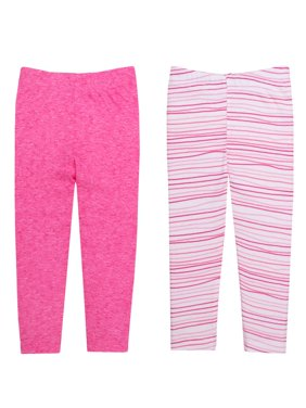 Newborn Baby Girl Knit Pants, 2-pack
