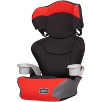 Evenflo Big Kid High Back Booster Car Seat, Cardinal Red