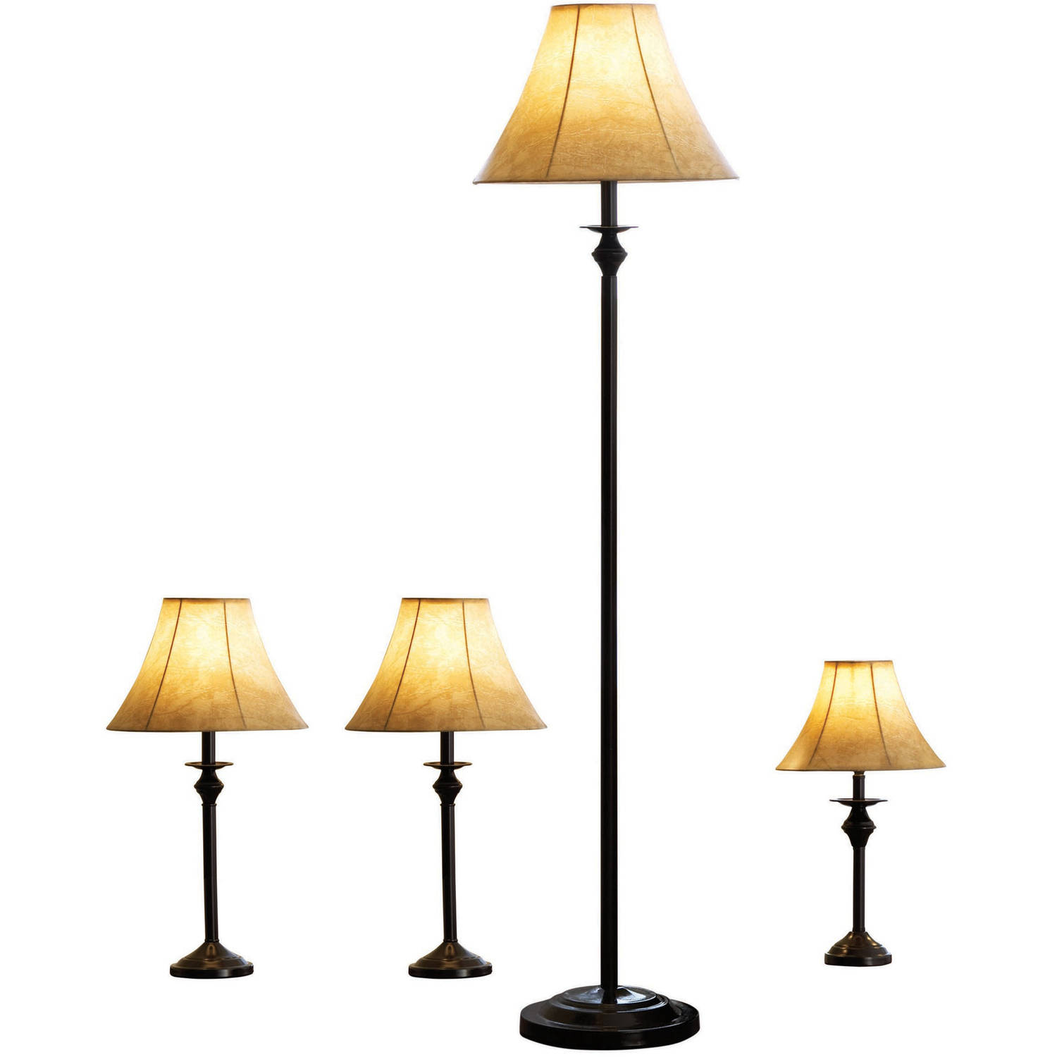 Lamp Sets Walmartcom - Bedroom lamps at walmart
