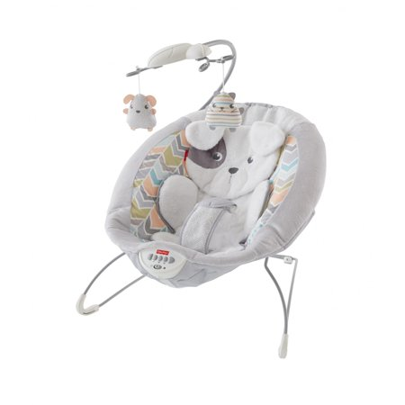 Fisher-Price Deluxe Bouncer, Sweet Snugapuppy (Best Fisher-price Friend Promises)