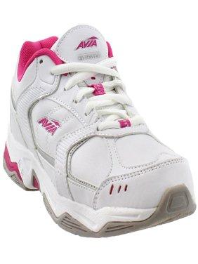 Avia Womens Avi Tangent Faux Leather Lightweight Running, Cross Training Shoes