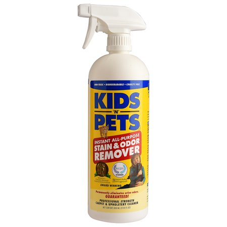 Pee Stain Removal (Kids n Pets Instant All-Purpose Stain And Odor Remover, 27.05)