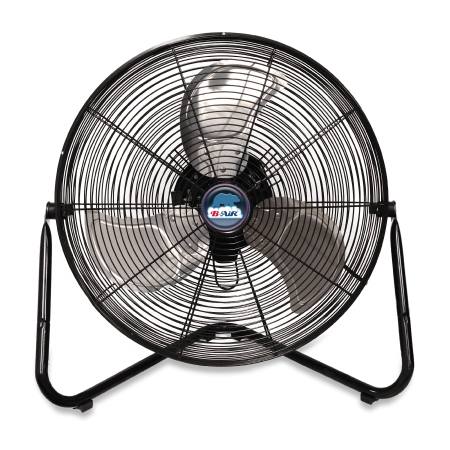 Compact Floor Fan - B-Air FIRTANA-20X High Velocity Electric Industrial and Home Floor Fan, 20