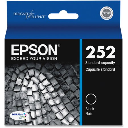 Epson 252 DURABrite Ultra Original Black Ink Cartridge