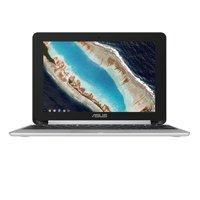 "Asus Flip C101 C101PA-DB02 10.1"" Rockchip RK3399 4GB 16GB Flash Memory - Chrome OS Convertible - Silver Chromebook"