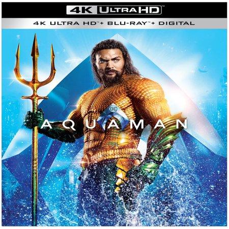 Aquaman (4K Ultra HD + Blu-ray + Digital Copy)