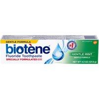 Biotène Gentle Formula Gentle Mint Toothpaste 4.3 Oz Box