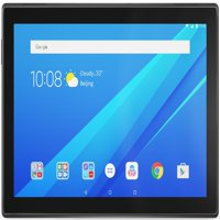 "Lenovo Tab 4 10"" Android Tablet, Quad-Core Processor, 1.4GHz, 16GB Storage, Slate Black"