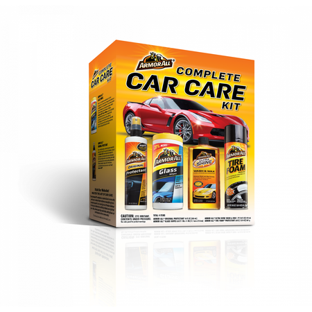 Armor All Complete Car Care Kit (4 Pieces), Car