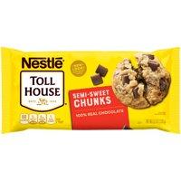 (3 Pack) NESTLE TOLL HOUSE Semi-Sweet Chocolate Chunks 11.5 oz Bag