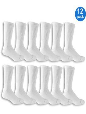Men's Crew Socks Value 12-Pack