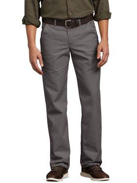 Men's Slim Fit Flat Front Flex Pant