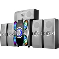Frisby FS-6900BT 5.1 Surround Sound Home Theater Tower Speaker System with Bluetooth USB/SD & Remote Control
