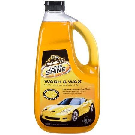 - Armor All Ultra Shine Wash & Wax, 64 fluid ounces, 11228