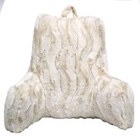 Better Homes & Gardens Faux Fur Backrest, Ivory