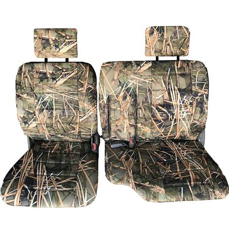 - Seat Cover for Toyota Pickup 1989 - 1995 60/40 Split Bench Thick Adjustable Headrest Armrest Access A57 Muddy Water Camo