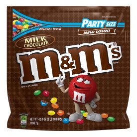 Double Milk Chocolate (M&M's, Milk Chocolate Candy, Party Size, 42 Ounce )