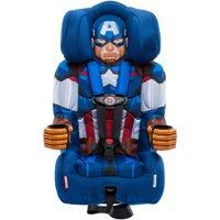 KidsEmbrace Combination Booster Car Seat, Marvel Avengers Captain America
