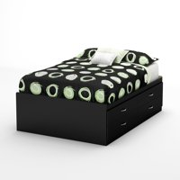 South Shore SoHo Full Captain Bed (54'') with 4 Drawers, Multiple Finishes