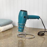 Spectrum myBella Spiral Countertop Hair Dryer Holder, Chrome