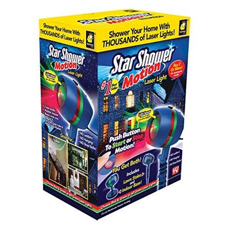 As Seen on TV Star Shower Laser Motion, Christmas Lights - As Seen On TV Star Shower Laser Motion, Christmas Lights - Walmart.com