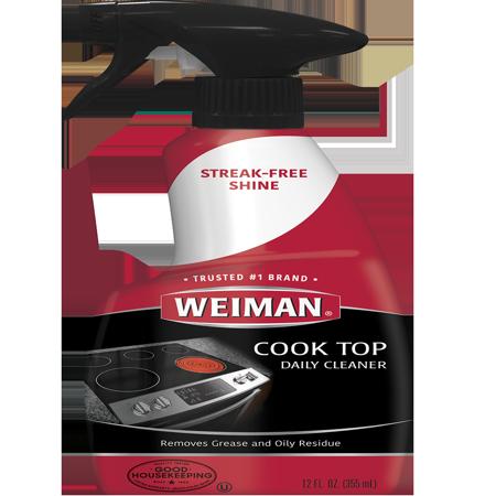- (2 pack) Weiman Cook Top Cleaner, 12 oz