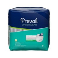 Prevail Unisex Maximum Absorbency Incontinence Underwear, 2XL, 12 Count